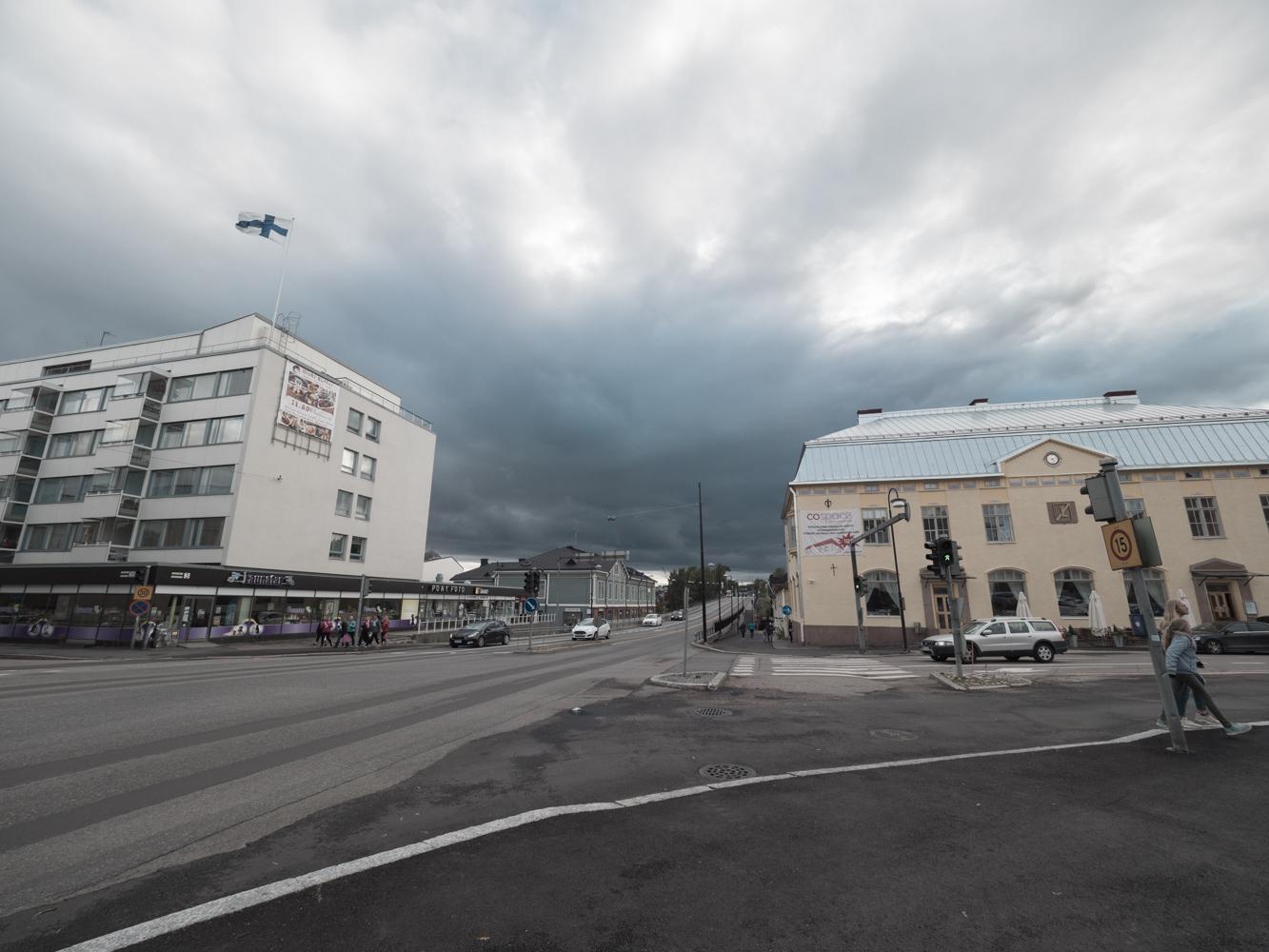 Schlechtes Wetter zieht auf