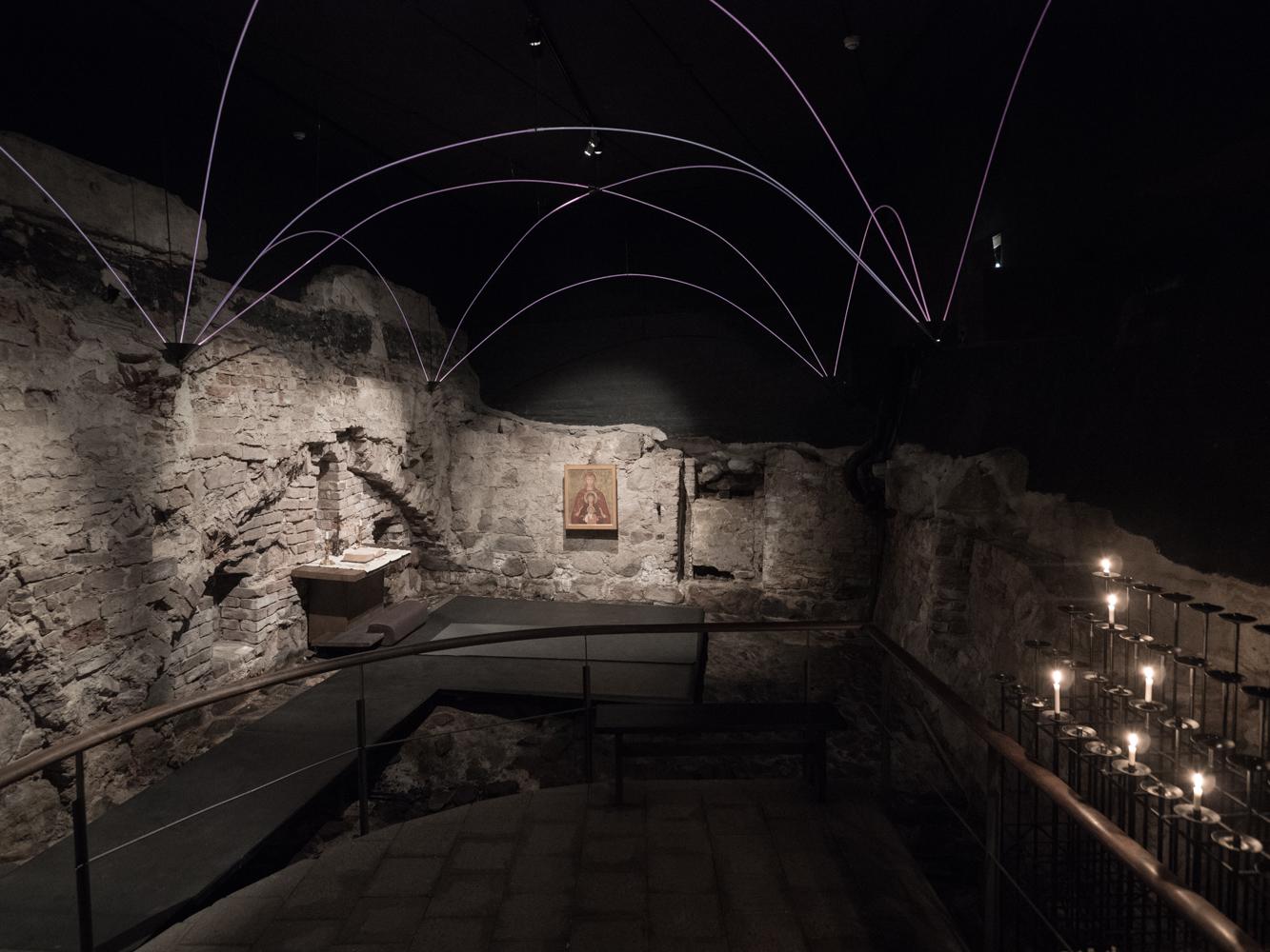 Ausgrabungen im Historischen Museum Turku