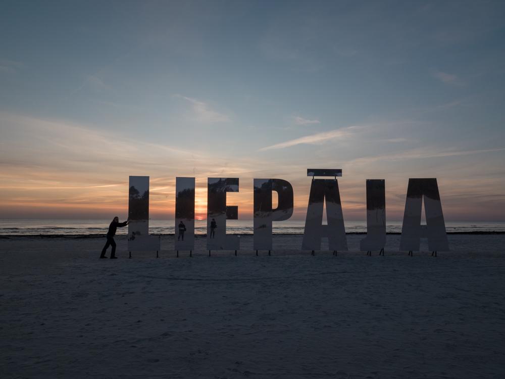 Liepaja, netter Ort im Westen Lettlands
