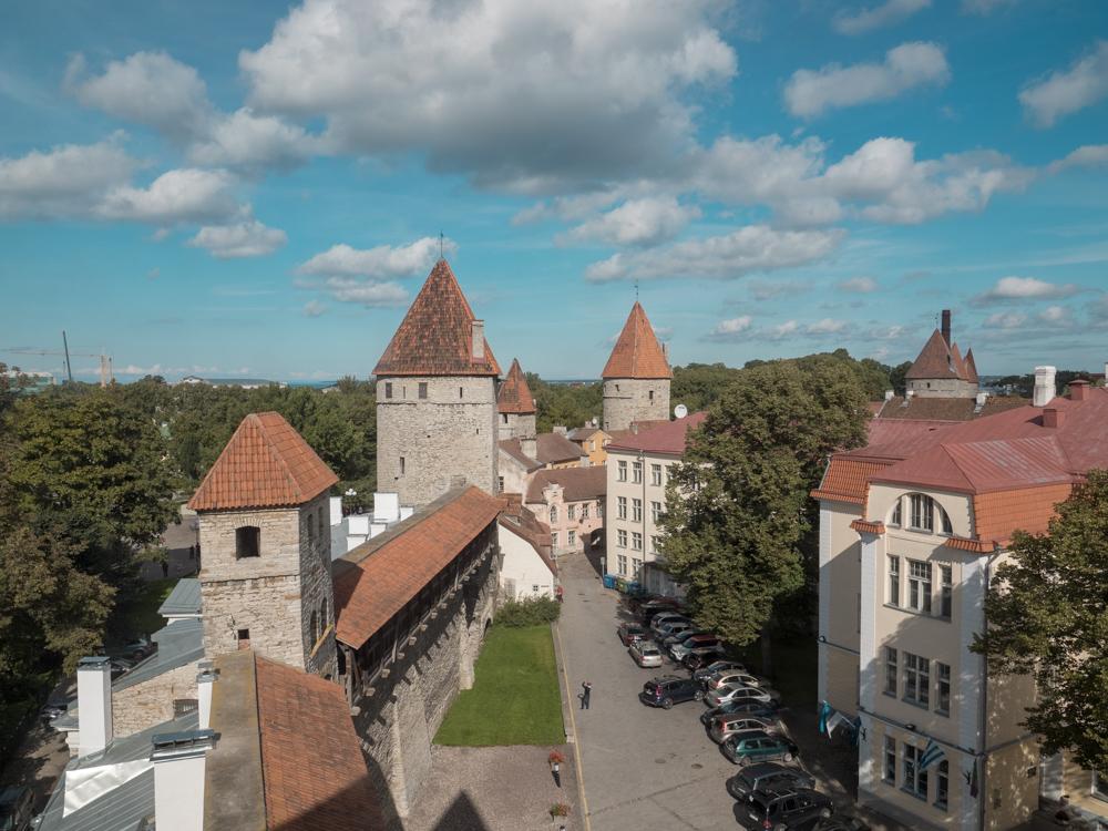 Blick über die Stadtmauern