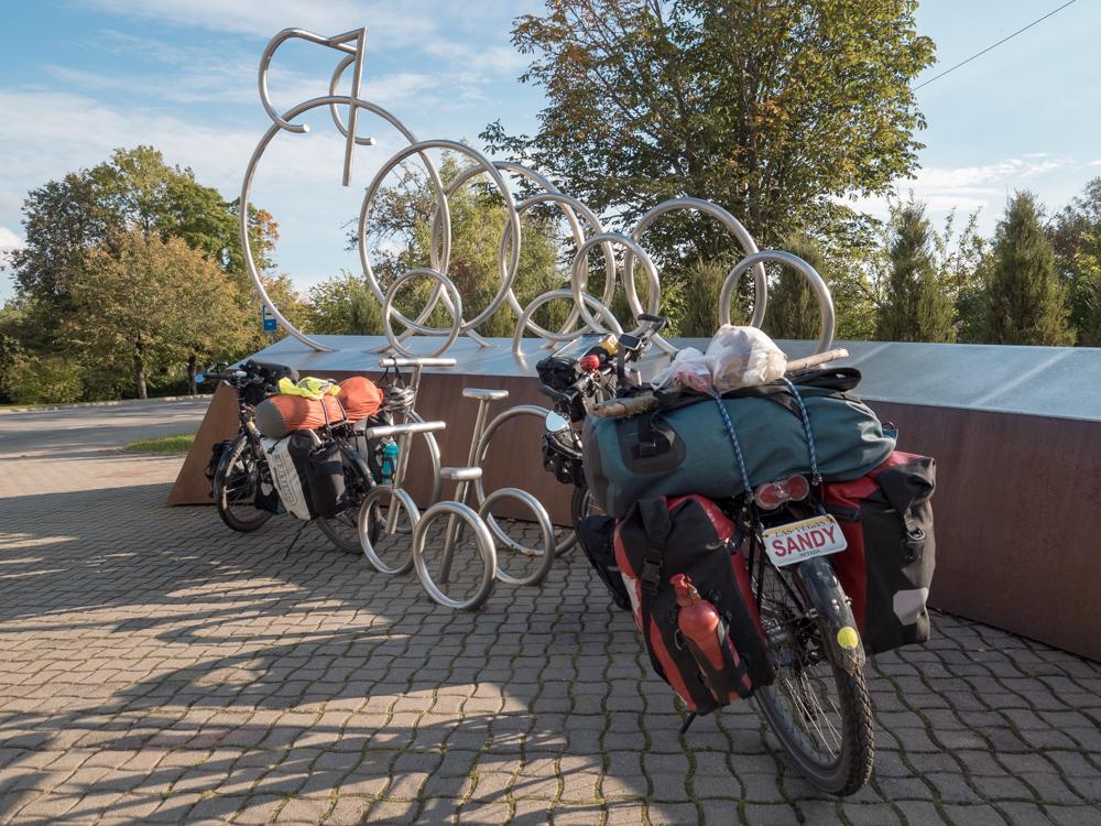 Bikes mit Bikes in Sigulda