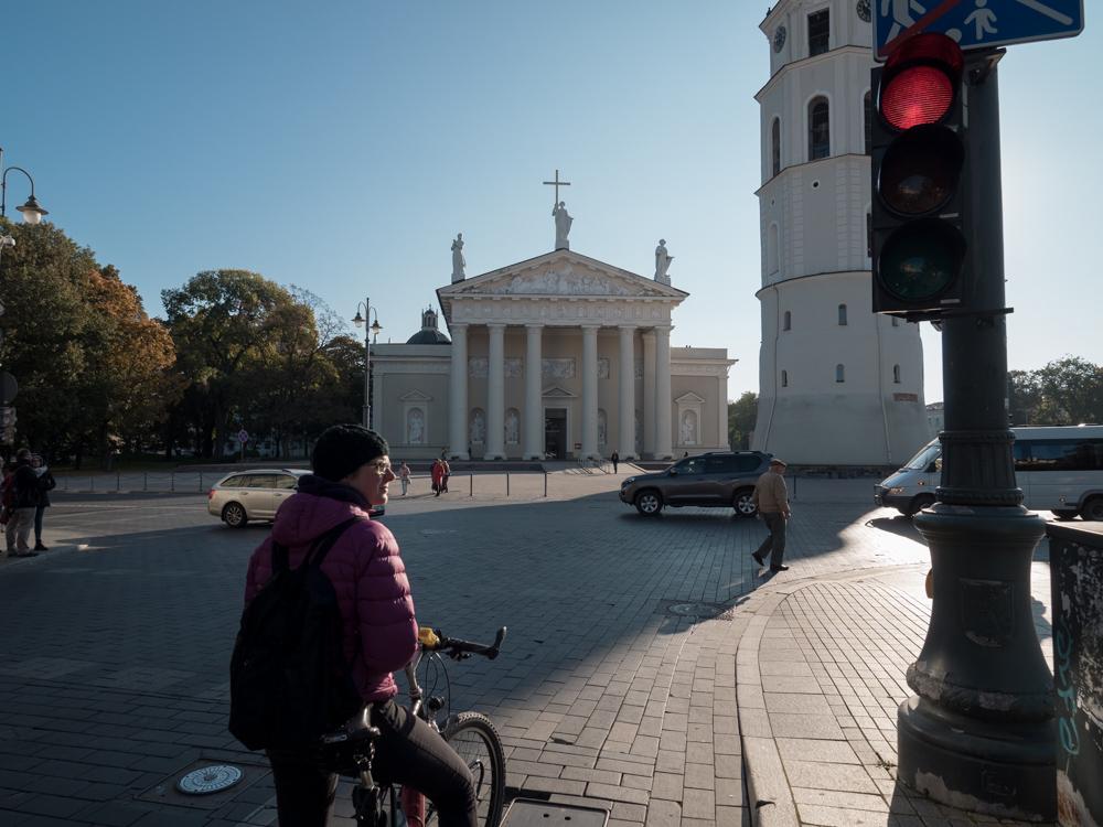Radfahren in Vilnius