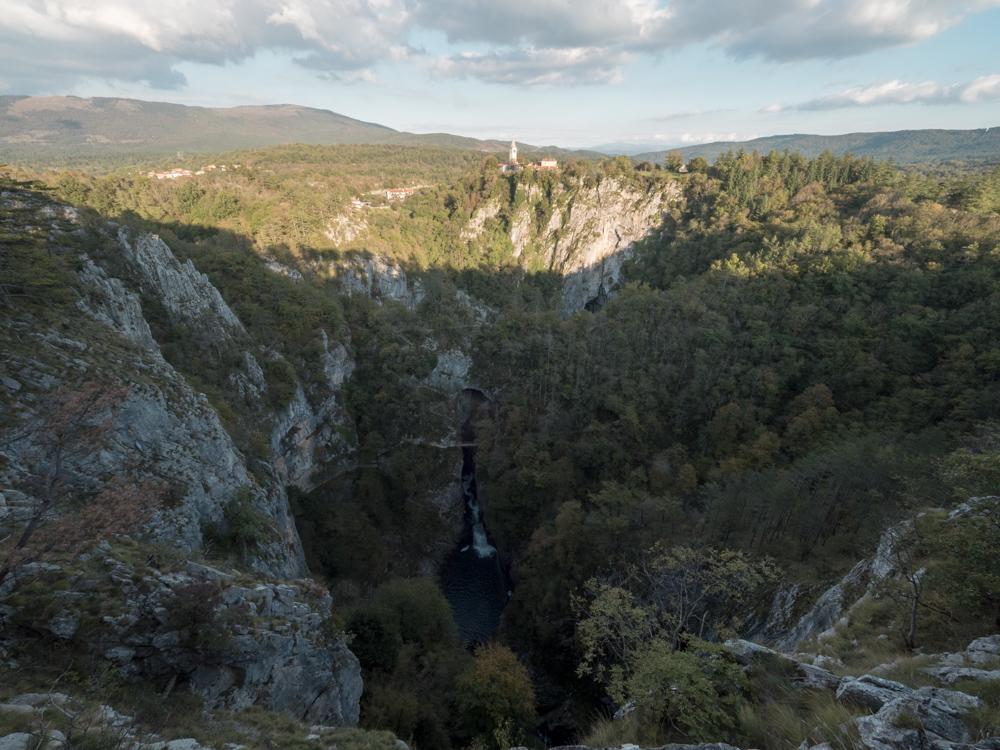 Aussicht über das Karstgebirge