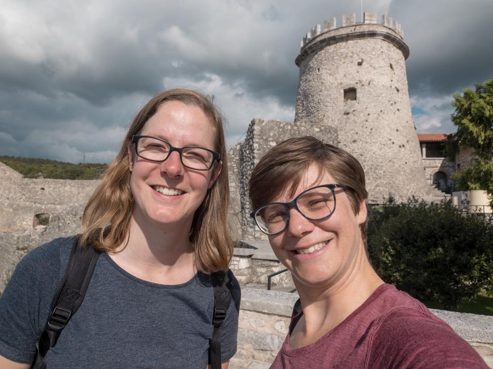 Burg Trsat in Rijeka