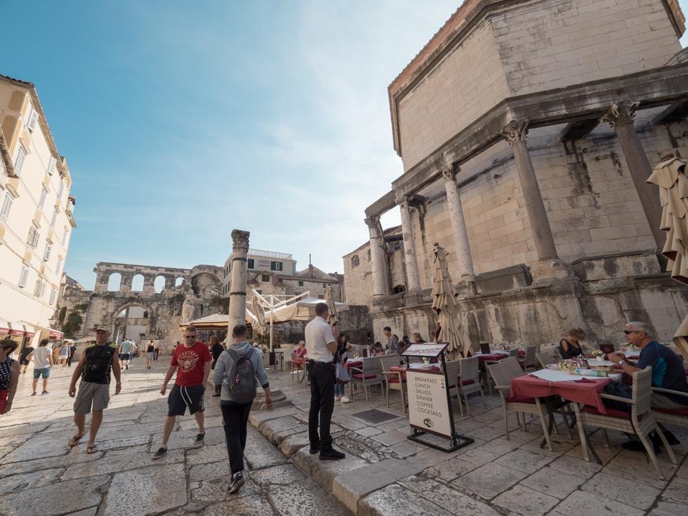 Im Diokletian Palast