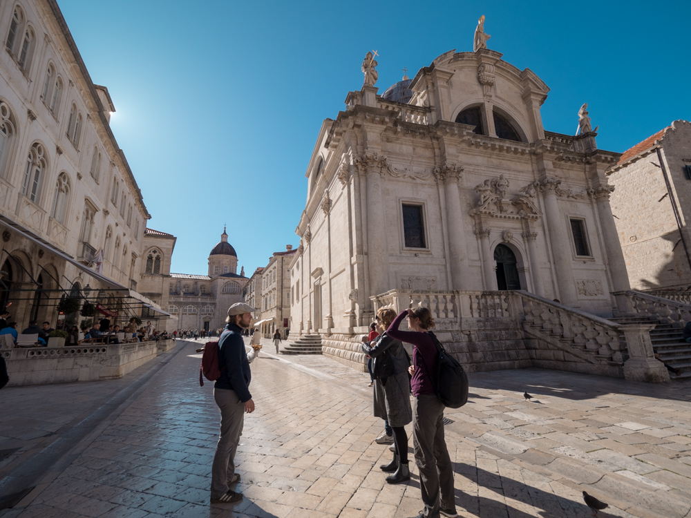 In der Altstadt von Dubrovnik