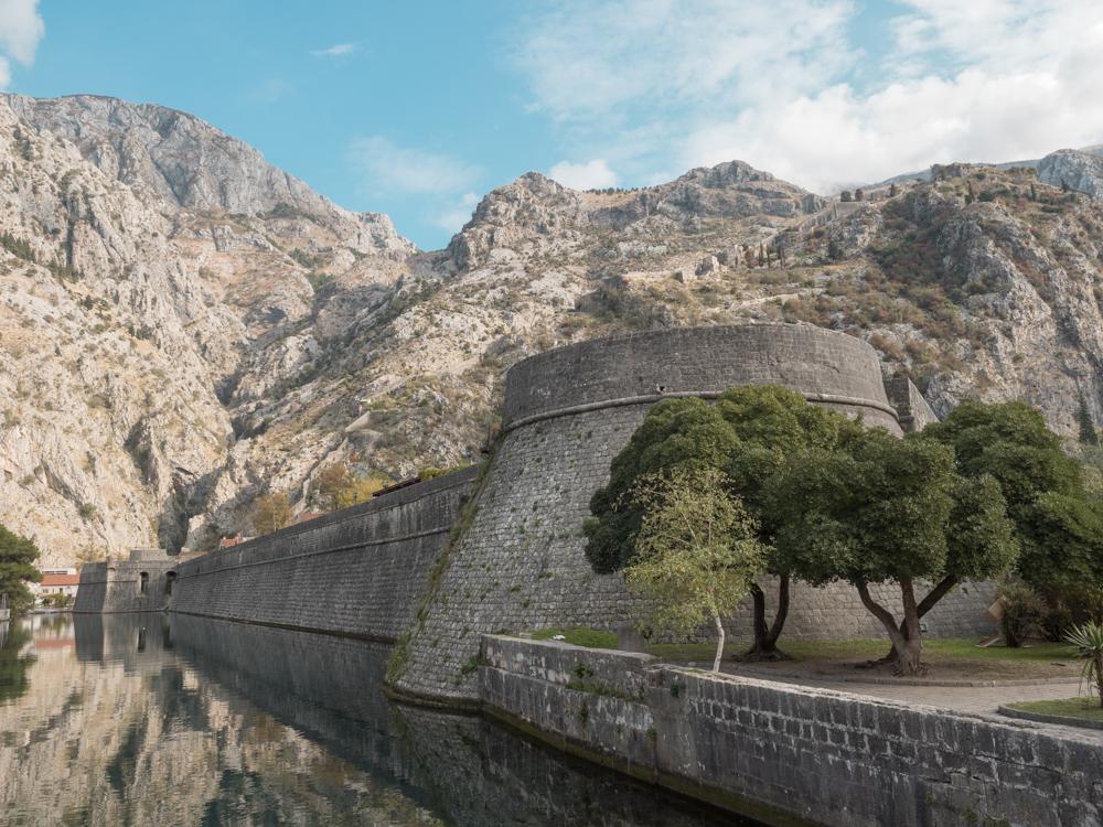 Stadtmauer von Kotor