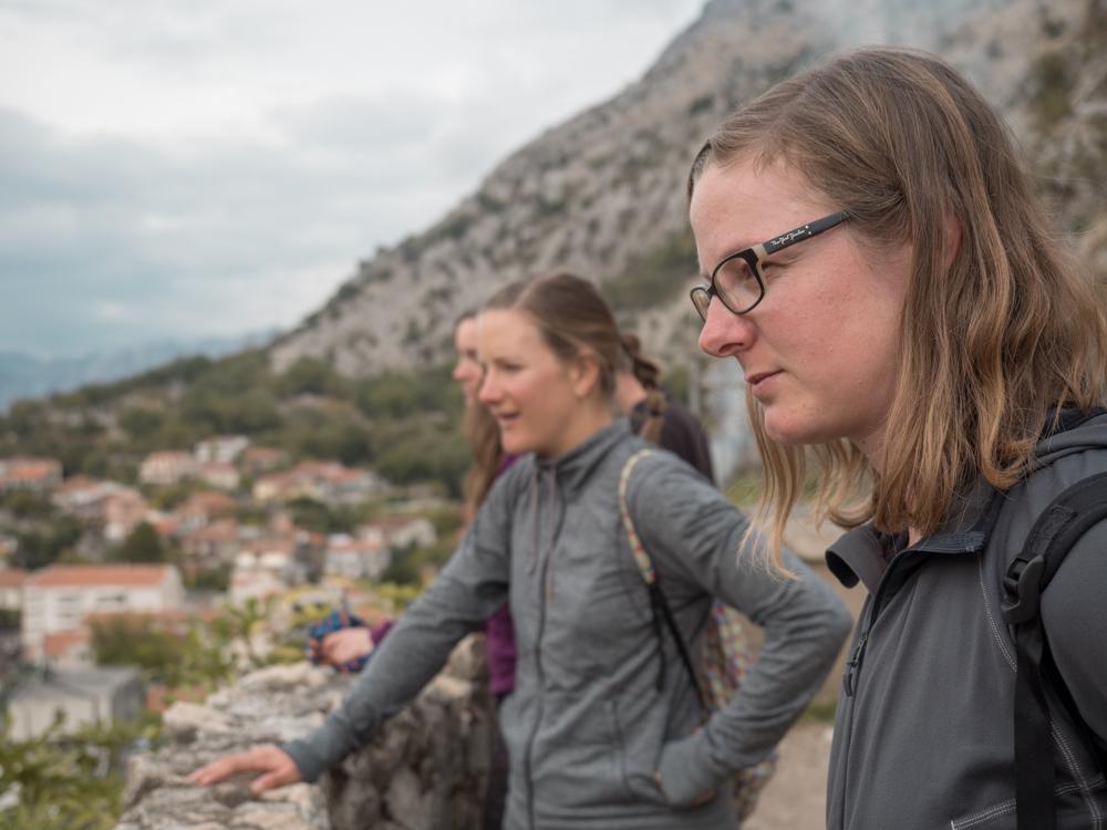 Kleine Wanderung zur Burg von Kotor