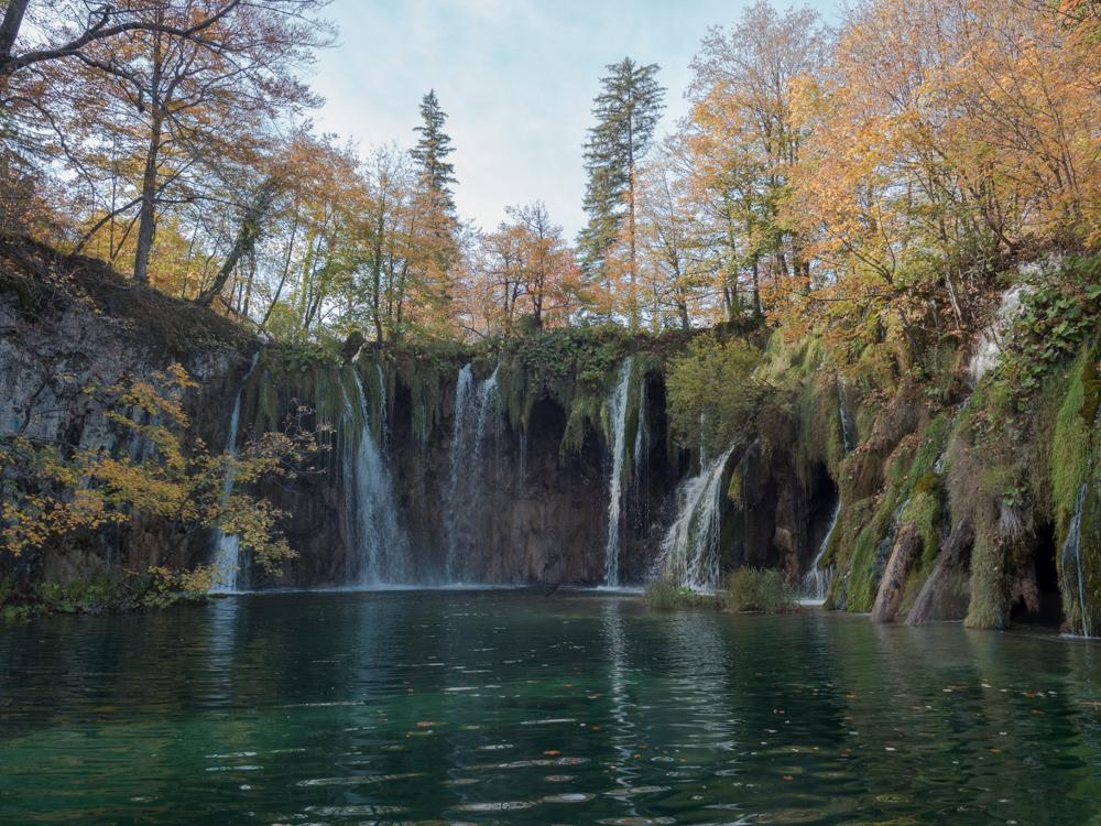 Im Nationalpark Plitvicka jezera