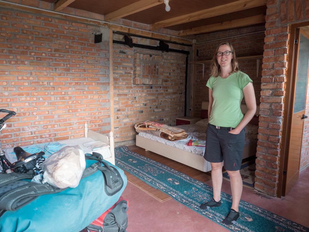 Unsere Unterkunft in Lezhë