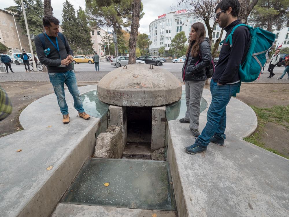 Einer der vielen Bunker