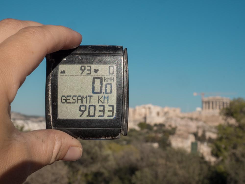 Vorläufiges Ende nach 9033 km