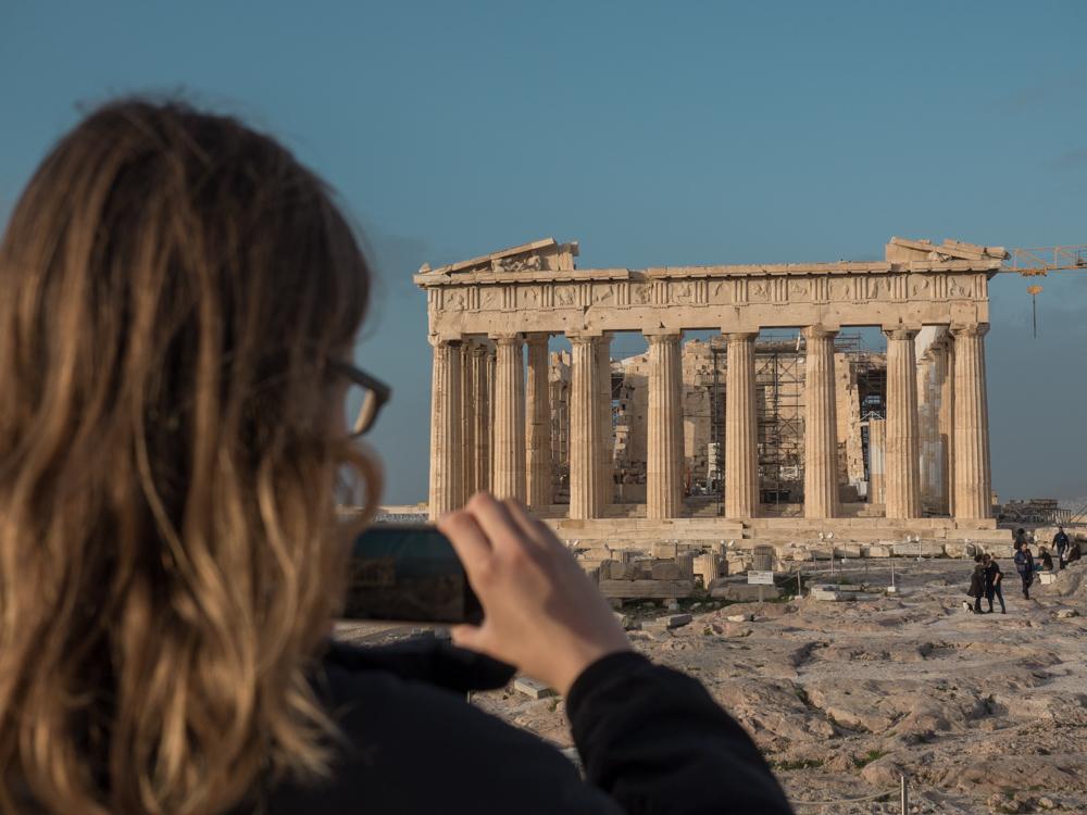 Das Parthenon wird renoviert