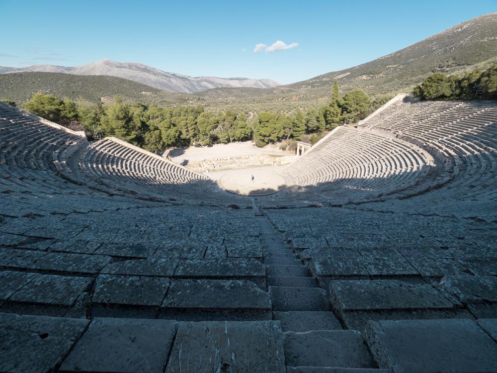 Eindrückliches Theater von Epidaurus