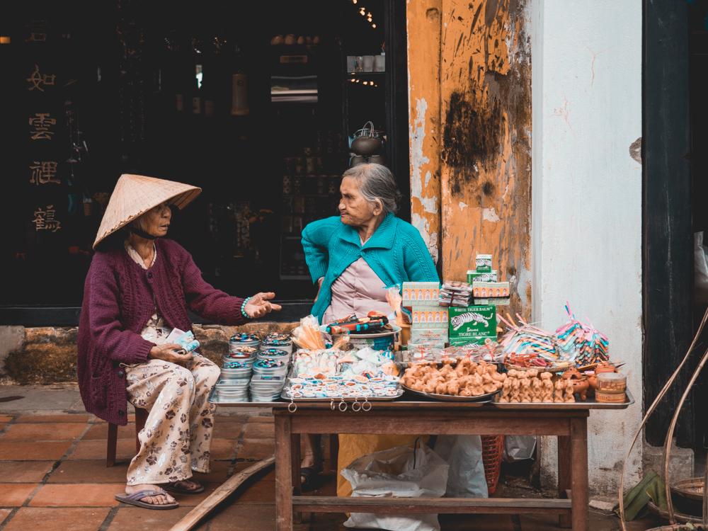 In den Strassen von Hoi An