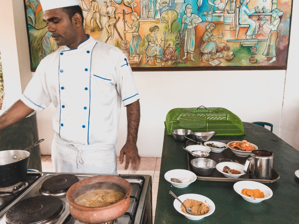 Kleiner Kochkurs im Hotel