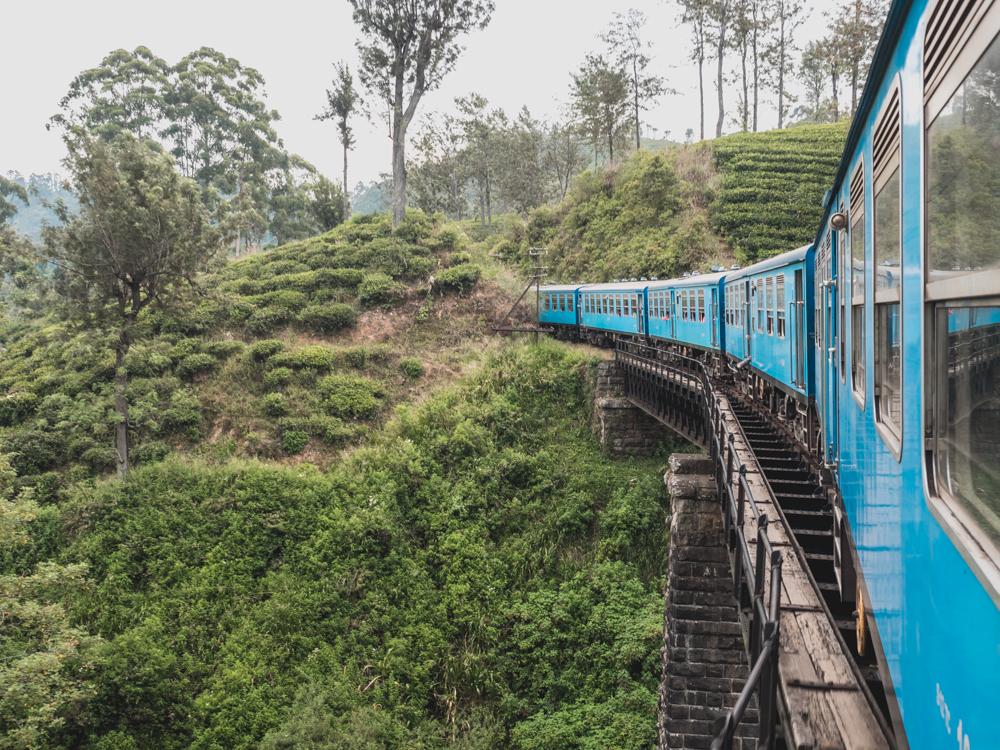 Die endlose Zugfahrt nach Kandy