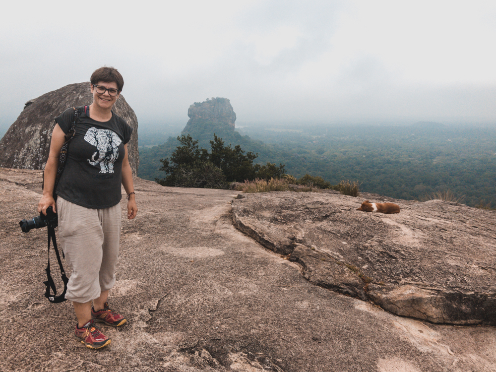 Sicht auf Sigiriya