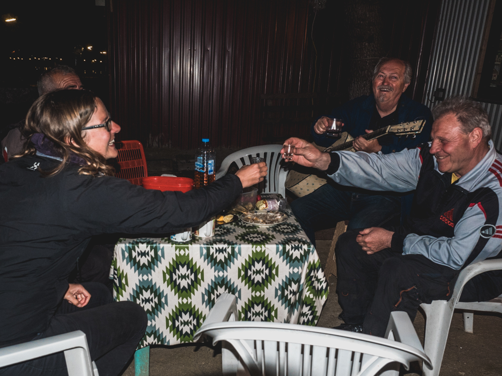 Die Begrüssung in Mazedonien könnte nicht besser sein