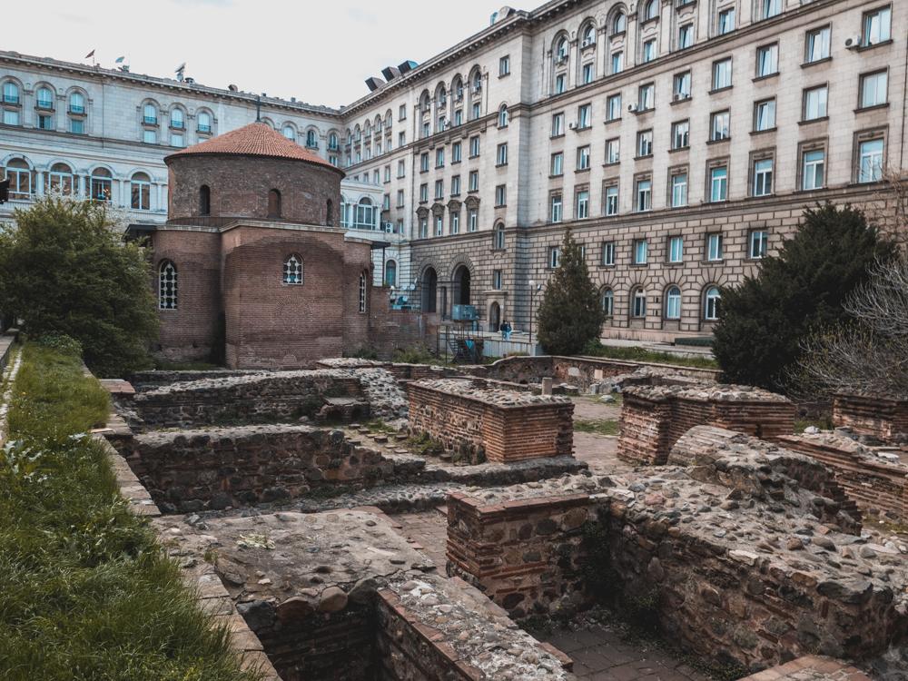 Die Georgs Kirche ist das älteste Gebäude Sofias