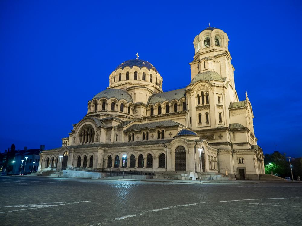 Alexander Nevsky Kathedrale, die ist riesig!