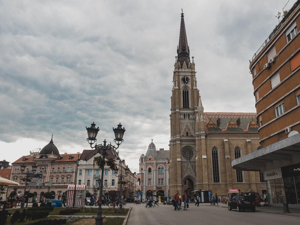 Zurück in Serbien: Novisad