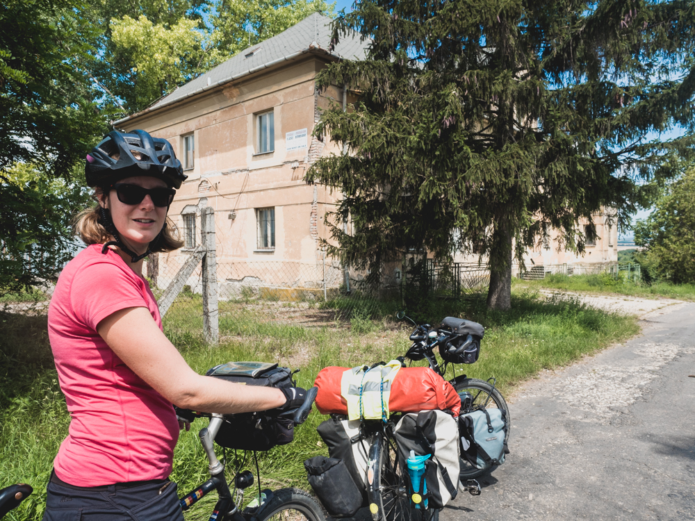 Der ehemalige Grenzposten zur Slowakei