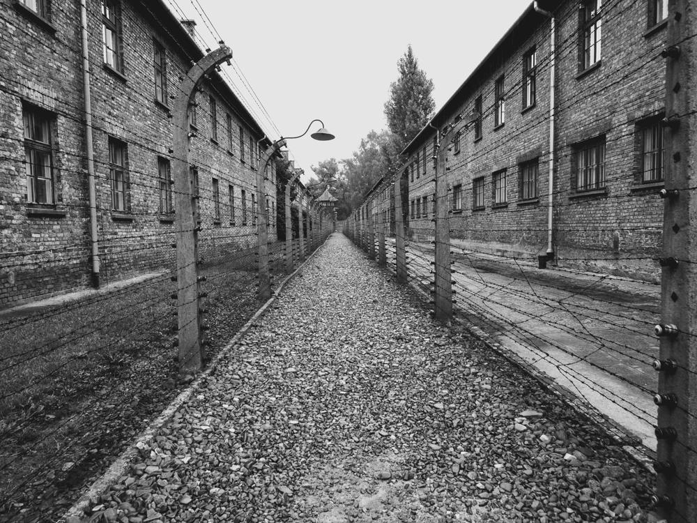Die Kasernen sind erhalten geblieben und dienen als Museum