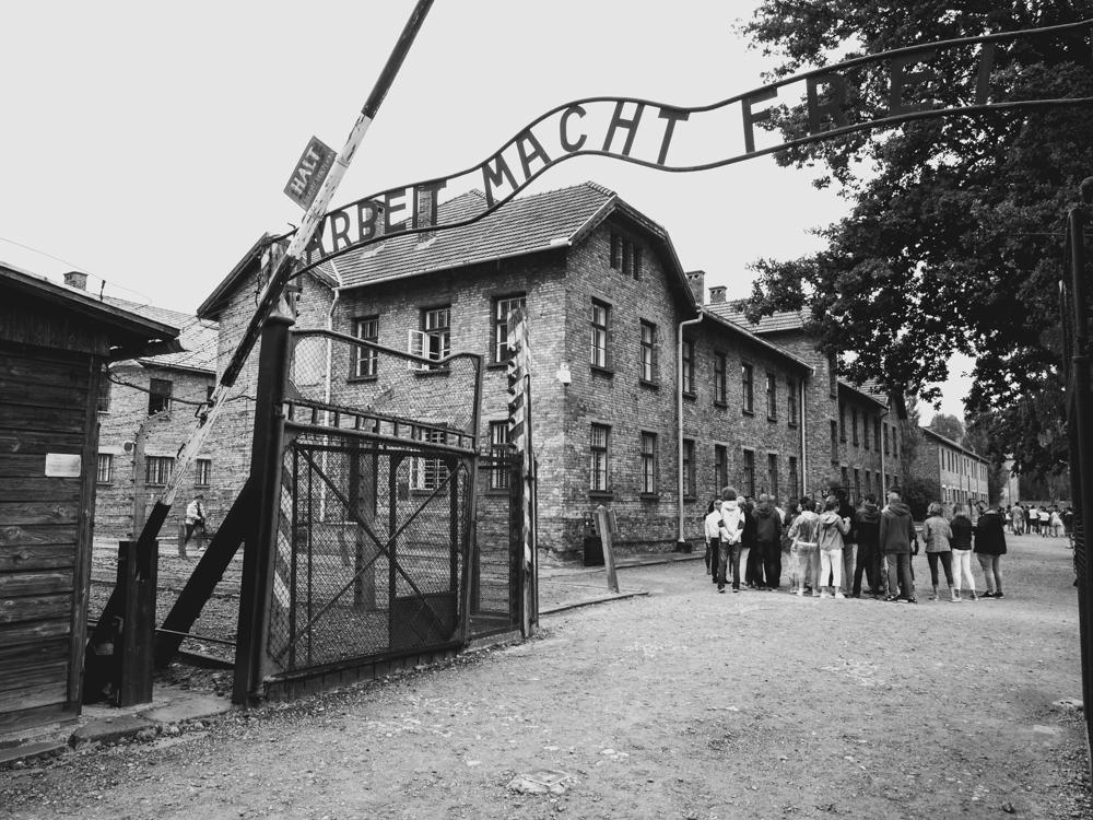 Besuch vom ehemaligen KZ Auschwitz