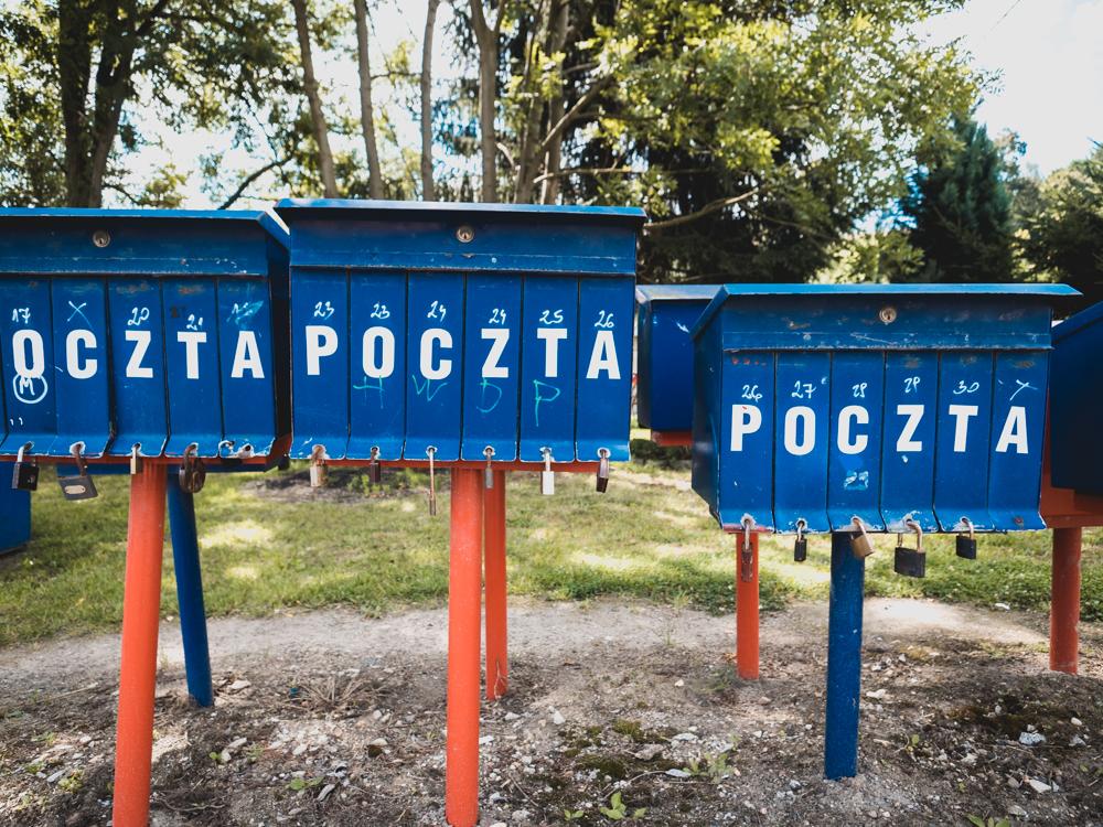 Polnische Briefkästen sind seltsam