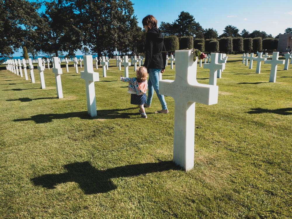Amerikanischer Friedhof in Colleville-sur-mer