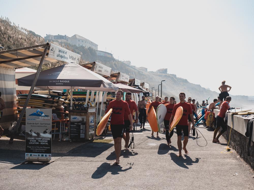 Darunter das bekannte Biarritz