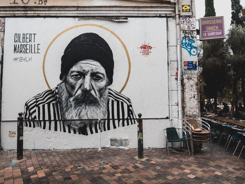 Street Art beim Cours Julien