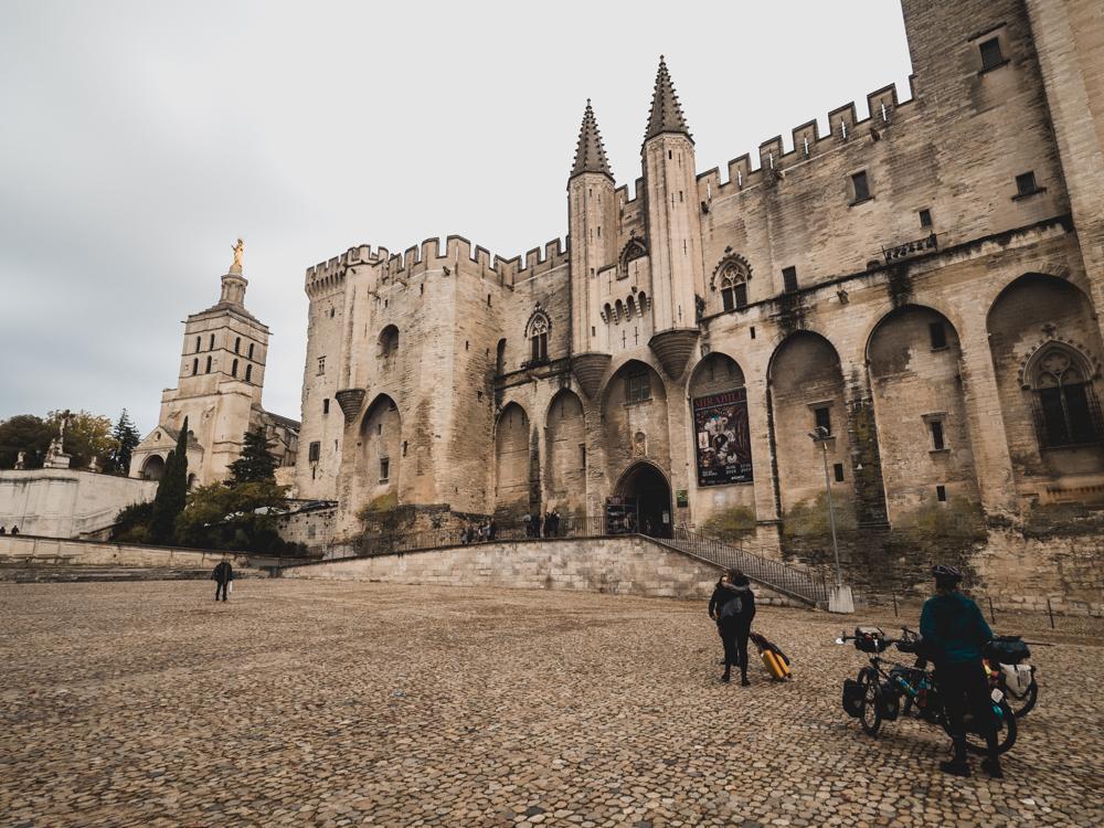 Le Palais du Pape in Avignon