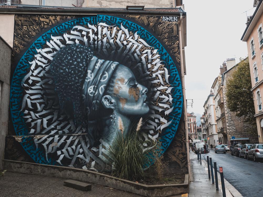 Streetart in Grenoble