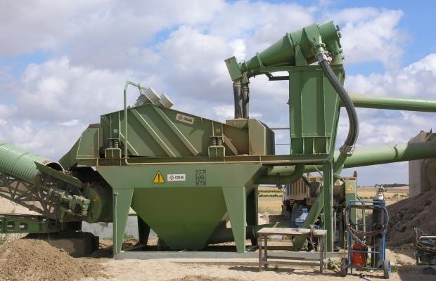 Compact Sand Washing Units
