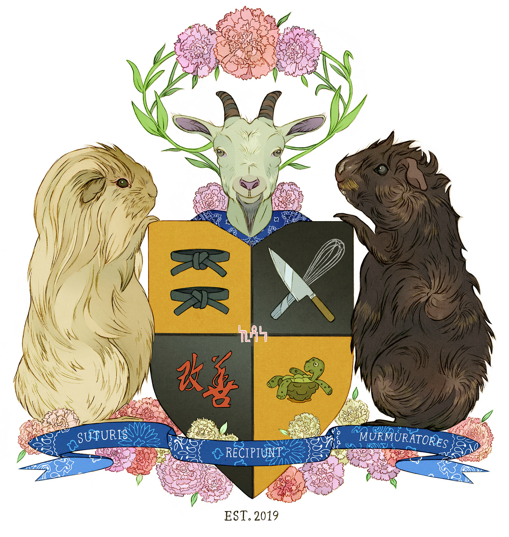 Custom Coat of Arms Commission.