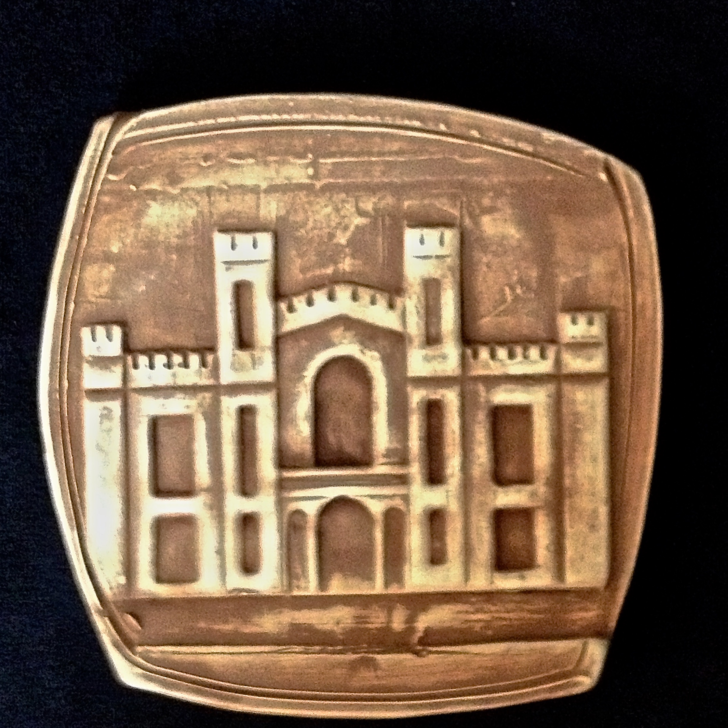 WADSWORTH ATHENEUM COASTER     $15.00