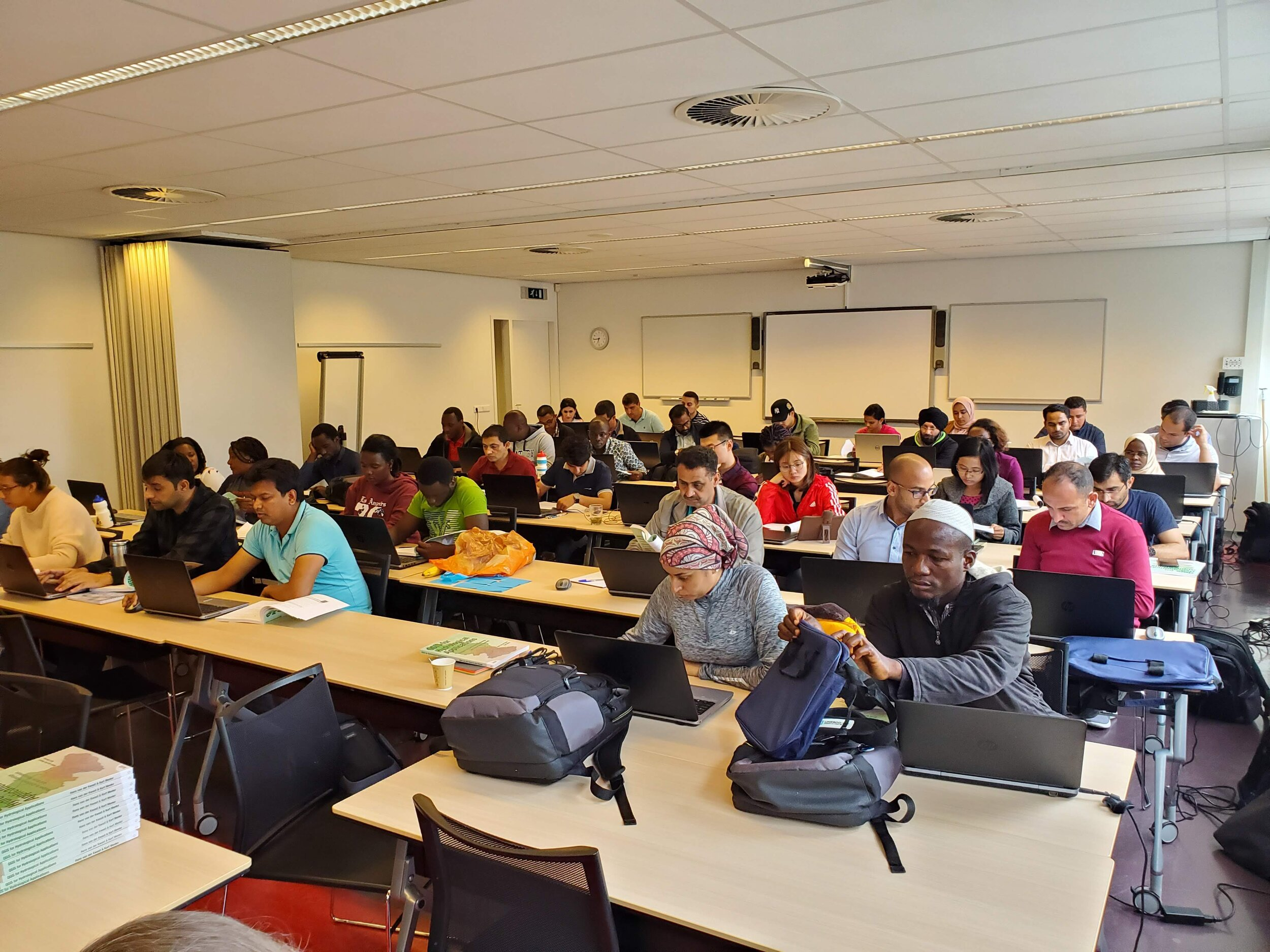 The inaugural course using QGIS for Hydrological Applications - IHE Delft