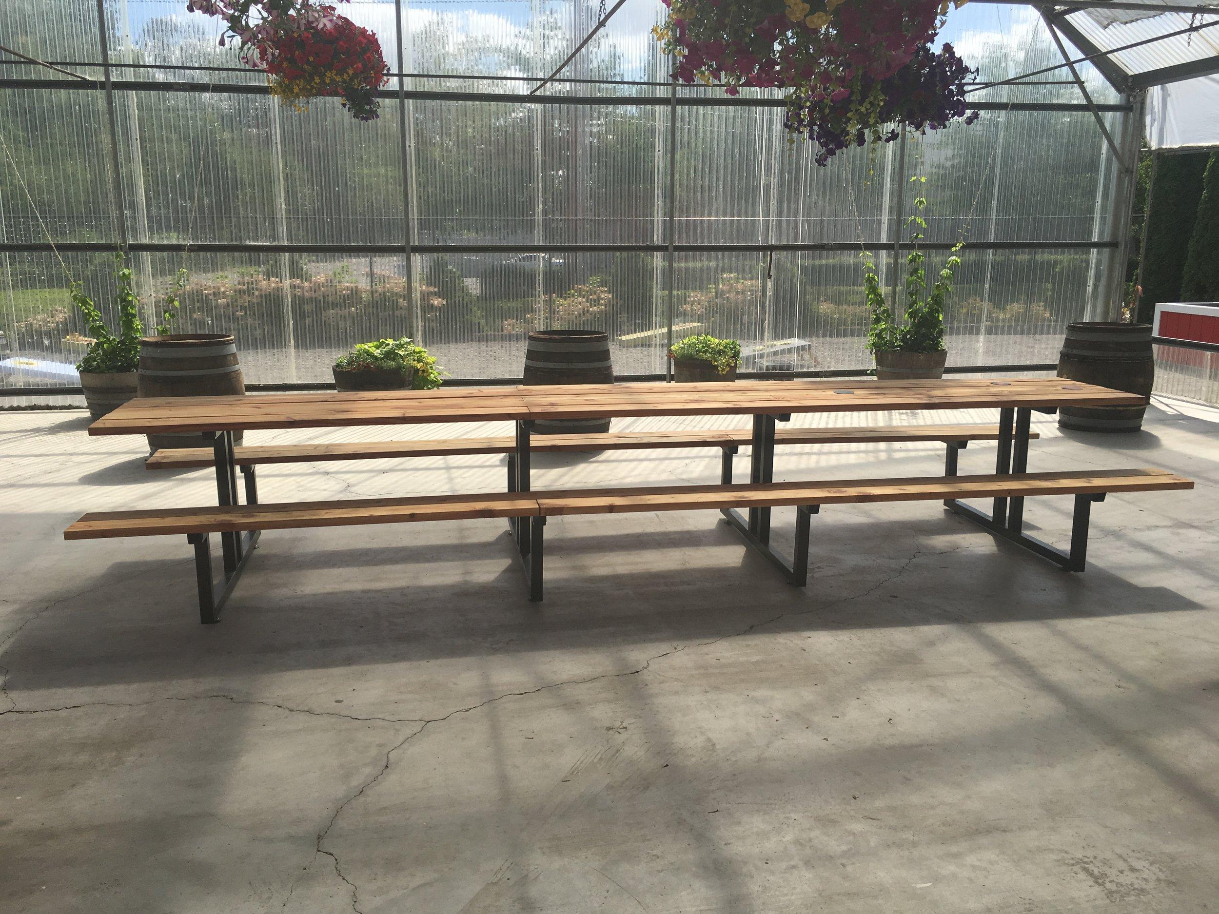 16 foot picnic table