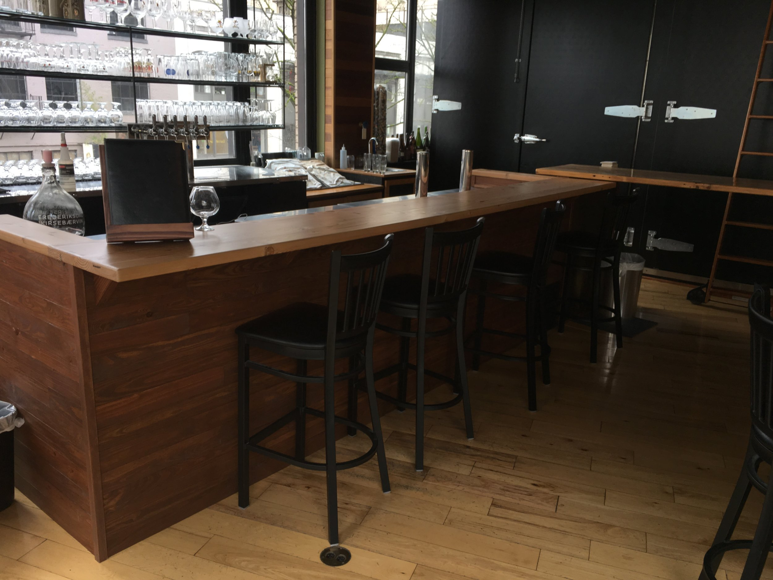 Custom bar and bar top