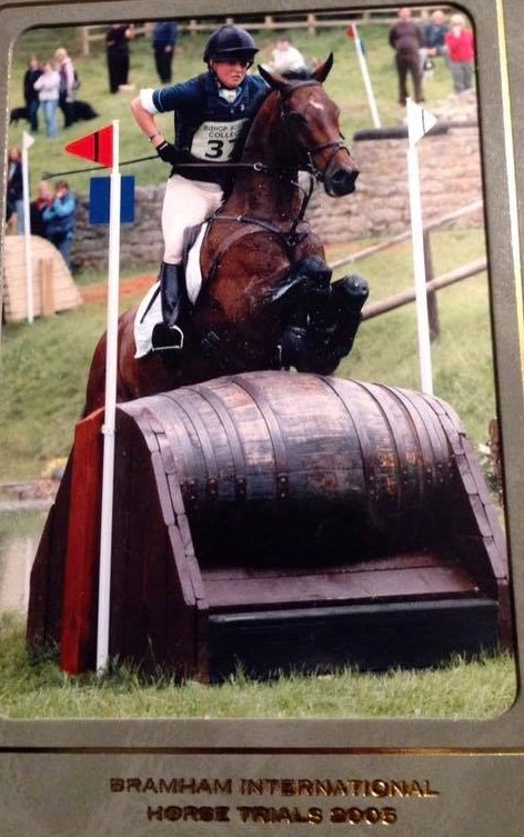 The 4* Event mare Ferndale Victoria at Bramham International Horse Trials with Piggy French.