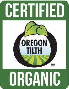 Swift River Farm is certified organic by Oregon Tilth.
