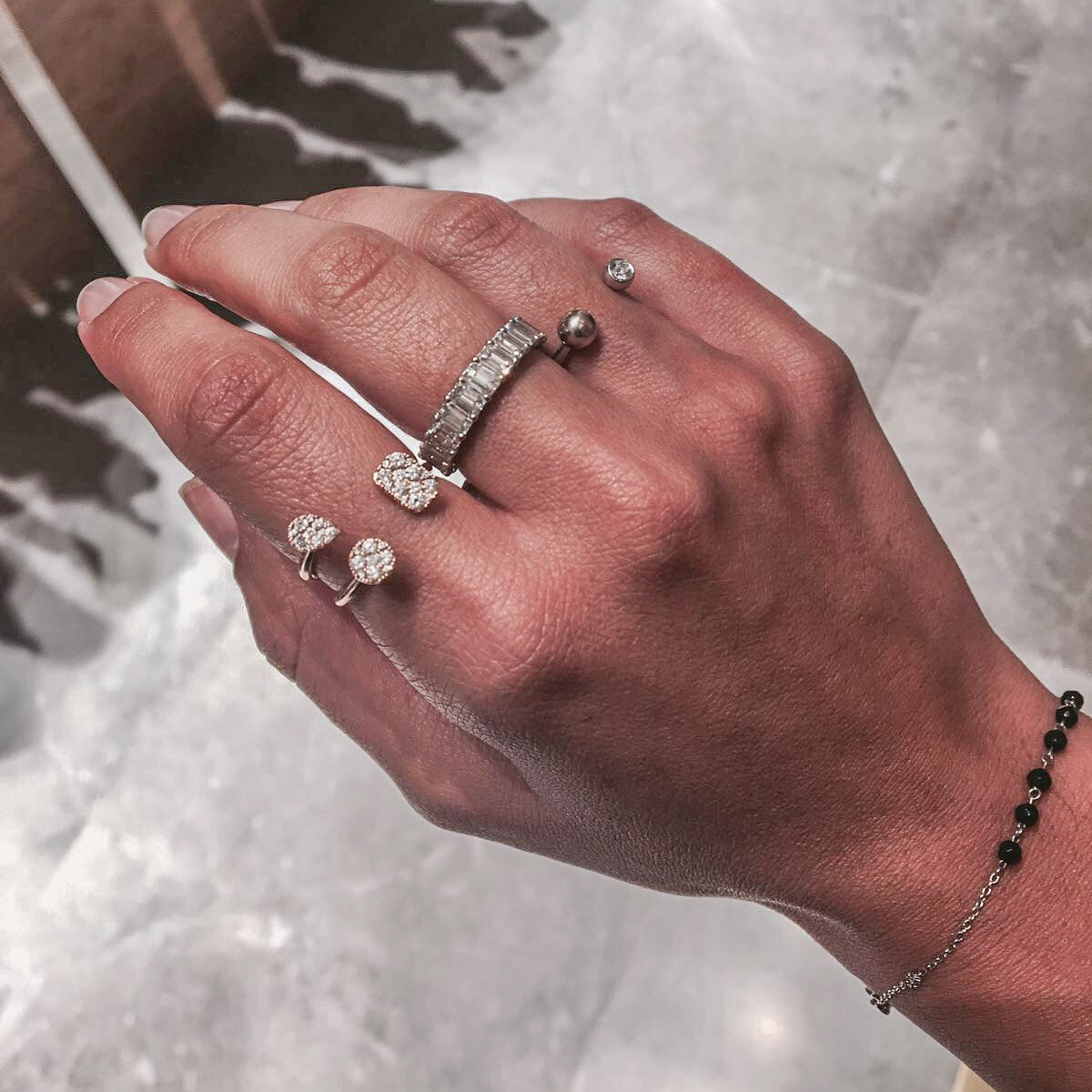Danielle's Armor: Rings from her Molecule Collection