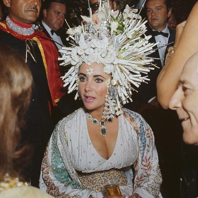 Danielle's jewelry icon, Elizabeth Taylor