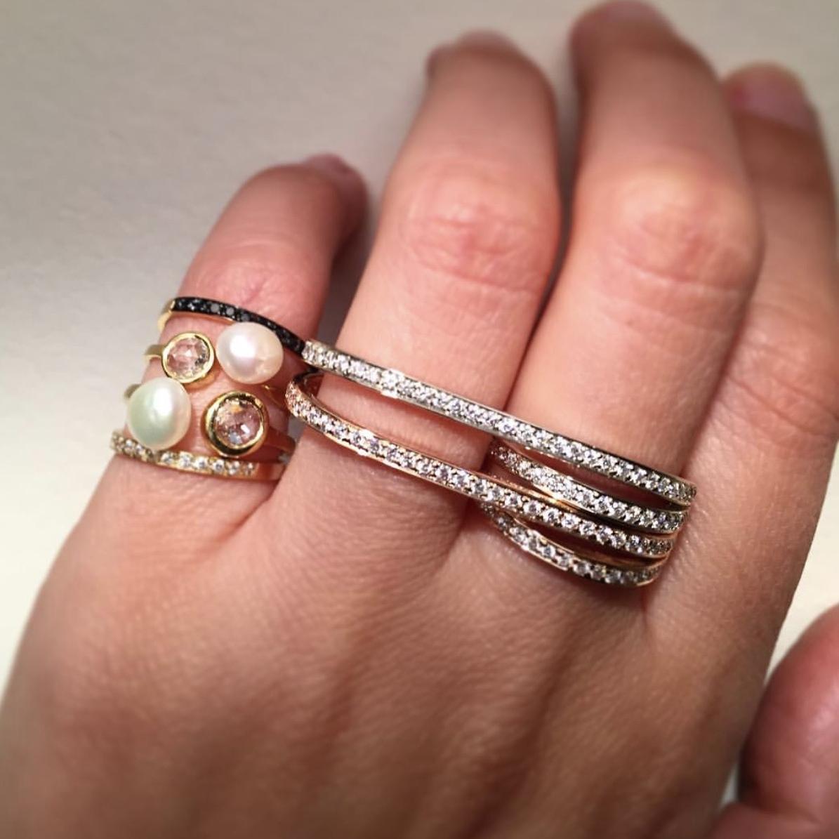 Halleh's Armor: Pinky rings