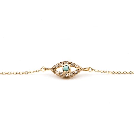 Halleh's Armor: Evil eye bracelet