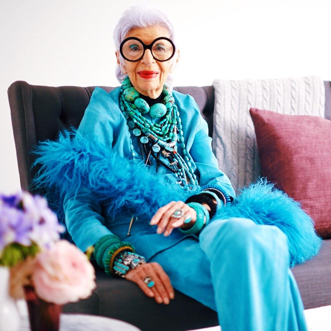 Anna's Jewelry Icon: Iris Apfel