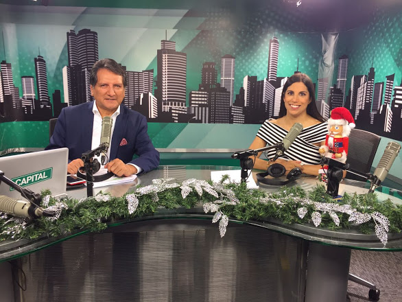 Entrevista con Dr Ruiz en Capital Tv
