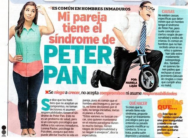 Síndrome Peter Pan